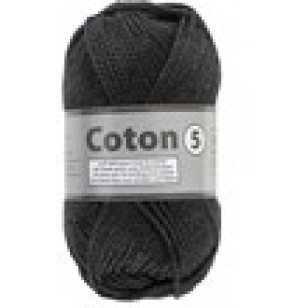 LY Cotton 5 001 Zwart